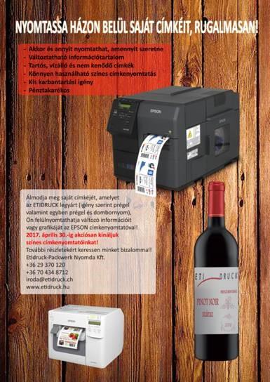 etikettendruckeraktion